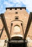 Gammal slott verona Royaltyfria Bilder