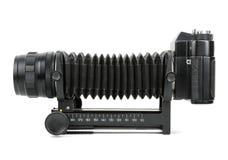 Gammal SLR kamera Arkivbild