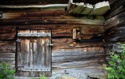 gammal smokehouse Arkivfoton