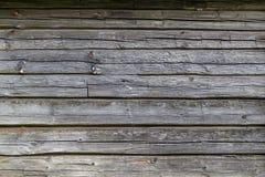 Gammal smutsig träväggtextur eller bakgrund Royaltyfri Bild