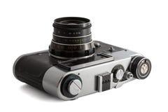 Gammal sovjetisk fotokamera Arkivfoto