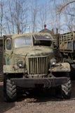 gammal sovjetisk lastbil Royaltyfri Fotografi