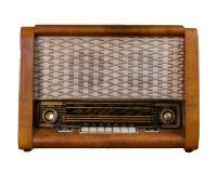 Gammal sovjetisk radio Arkivbild