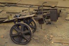 gammal spårvagn Arkivfoton
