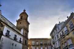 gammal spansk town Arkivfoton