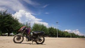 Gammal sparkcykel Royaltyfri Foto