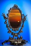 gammal spegel Arkivbild