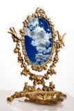 gammal spegel Royaltyfria Bilder