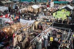 Gammal Spitalfields marknad i London på jul Royaltyfri Foto