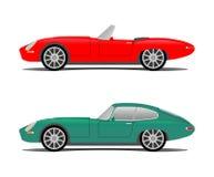 gammal sport för bil vektor illustrationer