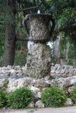 gammal springbrunn Arkivbild
