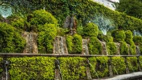 gammal springbrunn Tivoli Arkivfoto