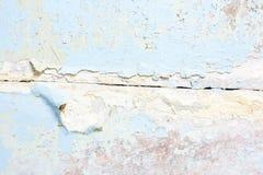 Gammal sprucken målarfärgbetongväggtextur Royaltyfria Foton