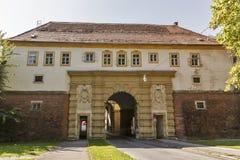 Gammal St Paul Gate i Graz, Österrike Royaltyfri Bild