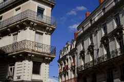 gammal stad Arkivbild