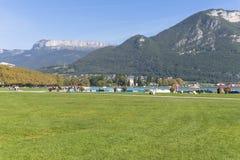 Gammal stad Annecy Arkivfoto