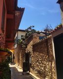 Gammal stad Antalya Arkivfoton