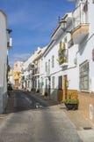Gammal stad av Alhaurin de la Torre, Malaga Royaltyfri Bild