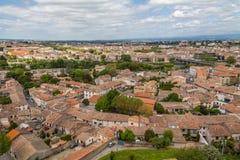 Gammal stad av Carcassonne Royaltyfri Foto