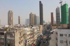 gammal stad av den kowloon staden Hong Kong royaltyfri fotografi
