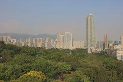 gammal stad av den kowloon staden Hong Kong arkivfoton