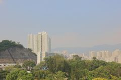 gammal stad av den kowloon staden Hong Kong royaltyfria bilder