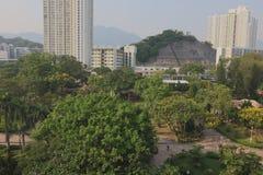 gammal stad av den kowloon staden Hong Kong Royaltyfria Foton