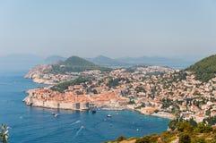 Gammal stad av Dubrovnik i Kroatien. Royaltyfri Fotografi