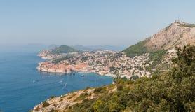 Gammal stad av Dubrovnik i Kroatien. Royaltyfria Foton