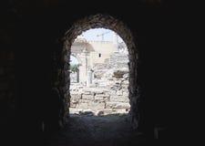 Gammal stad av Ephesus. Turkiet Royaltyfria Bilder