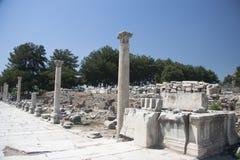 Gammal stad av Ephesus. Turkiet Royaltyfria Foton