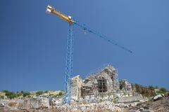 Gammal stad av Ephesus. Turkiet Arkivfoton