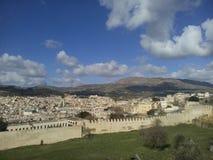 Gammal stad av Fes, Marocko Royaltyfri Fotografi