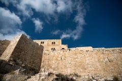 Väggar av Jerusalem Royaltyfri Fotografi