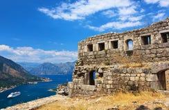 Gammal stad av Kotor Royaltyfria Bilder