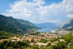 Gammal stad av Kotor, Montenegro, Europa royaltyfria foton