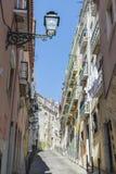Gammal stad av Lissabon arkivfoto