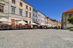 Gammal stad av Lublin. Stad i Polen. Arkivfoton