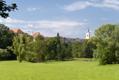 Gammal stad av Neustadt, Tyskland royaltyfri fotografi