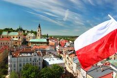 Gammal stad av Przemysl, Polen Royaltyfria Bilder