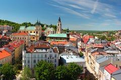 Gammal stad av Przemysl, Polen Arkivbild