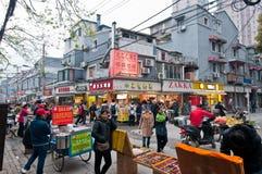 Gammal stad av Shanghai Royaltyfri Foto