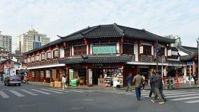 Gammal stad av Shanghai Royaltyfri Bild
