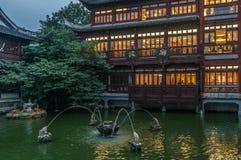 Gammal stad av Shanghai Arkivbilder