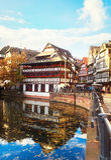 Gammal stad av Strasbourg, Frankrike Royaltyfri Foto