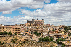 Gammal stad av Toledo i Spanien Royaltyfria Foton