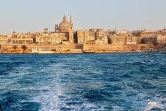 Gammal stad av Valletta, Malta Royaltyfria Foton