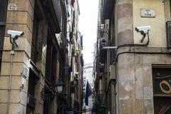 Gammal stad, Barcelona Royaltyfri Foto