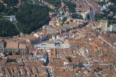 Gammal stad Brasov Arkivbilder