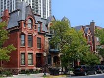 Gammal stad Chicago Arkivfoton